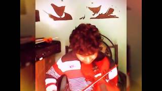 abhijit ps nair plays ae ajnabi on a 5 string acoustic violin by golden musicals