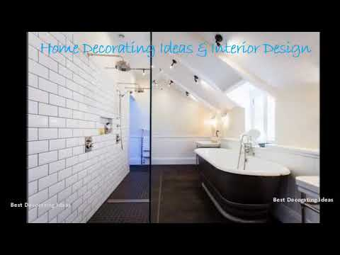 Attic bathroom designs | Room decoration interior picture ideas to make your stylish modern