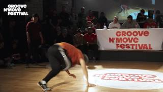 1/4 Final - Timo & Pac Pac (tekken FR) vs Jerry et Nagi (JP) - GNM Bboying battle 2017