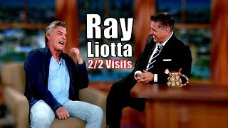 Ray Liotta - He & Craig Are Being Good Fellas - 2/2 Visits In Chronological Order