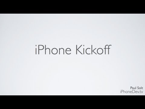 IPhone Skillshare Kickoff - Getting Started With App Development In Xcode And Learning Concepts