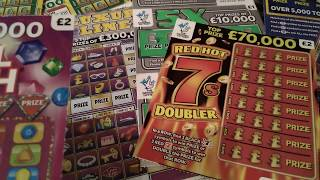Scratchcard ROLL OVER..Last night of the game..£29.00.to spend