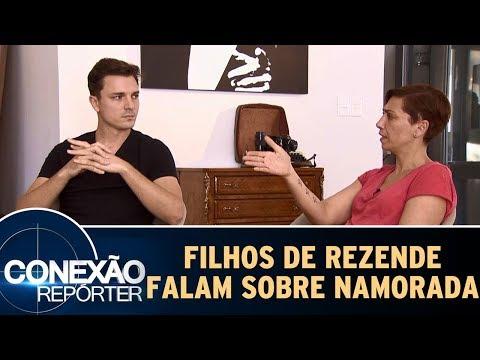 Filhos De Marcelo Rezende Falam Sobre A Namorada Do Pai | Conexão Repórter (24/09/17)