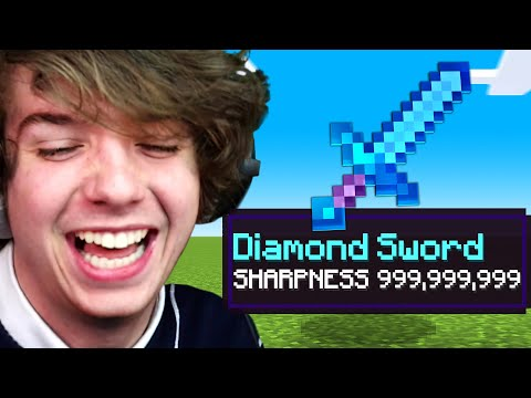 Minecraft But Everything is OP!