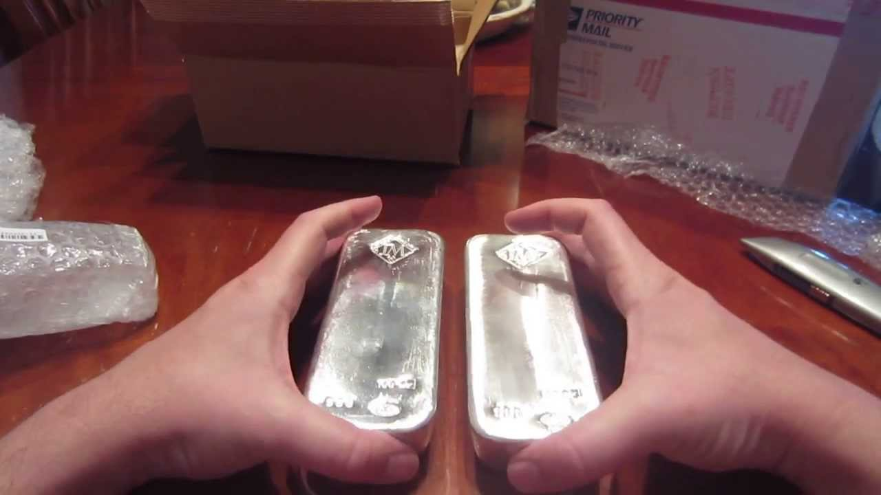Largest Unboxing Yet 200 Oz Of Johnson Matthey Poured
