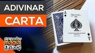 Como adivinar CUALQUIER carta  Aprender magia gratis