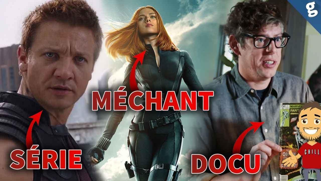S rie hawkeye et docus marvel sur disney affiches avengers 4 m chant black widow youtube - Mechant avenger ...