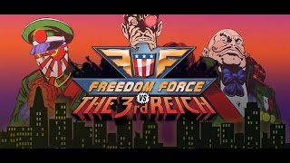 Freedom Force vs the 3rd Reich Walkthrough Gameplay