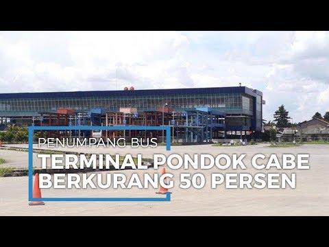 Dampak Pandemi Corona, Penumpang Bus AKAP di Terminal Pondok Cabe Berkurang 50% - 동영상