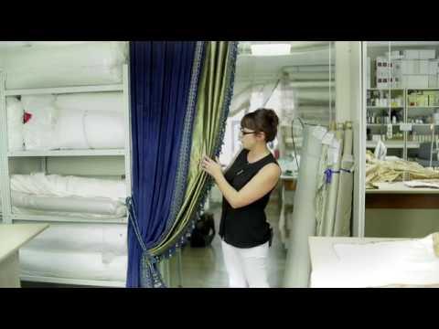 Как сшить шторы из бархата