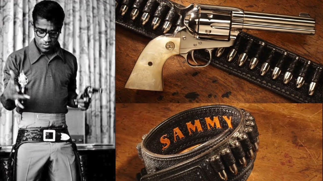 Sammy Davis Jr's Colt Revolver and Rig