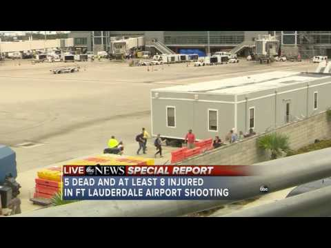 LIVE: 5 dead, 8 injured in Fort Lauderdale Airport shooting; shooter in custody