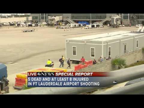LIVE: 5 dead, 8 injured in Fort Lauderdale Airport shooting; shooter in custody