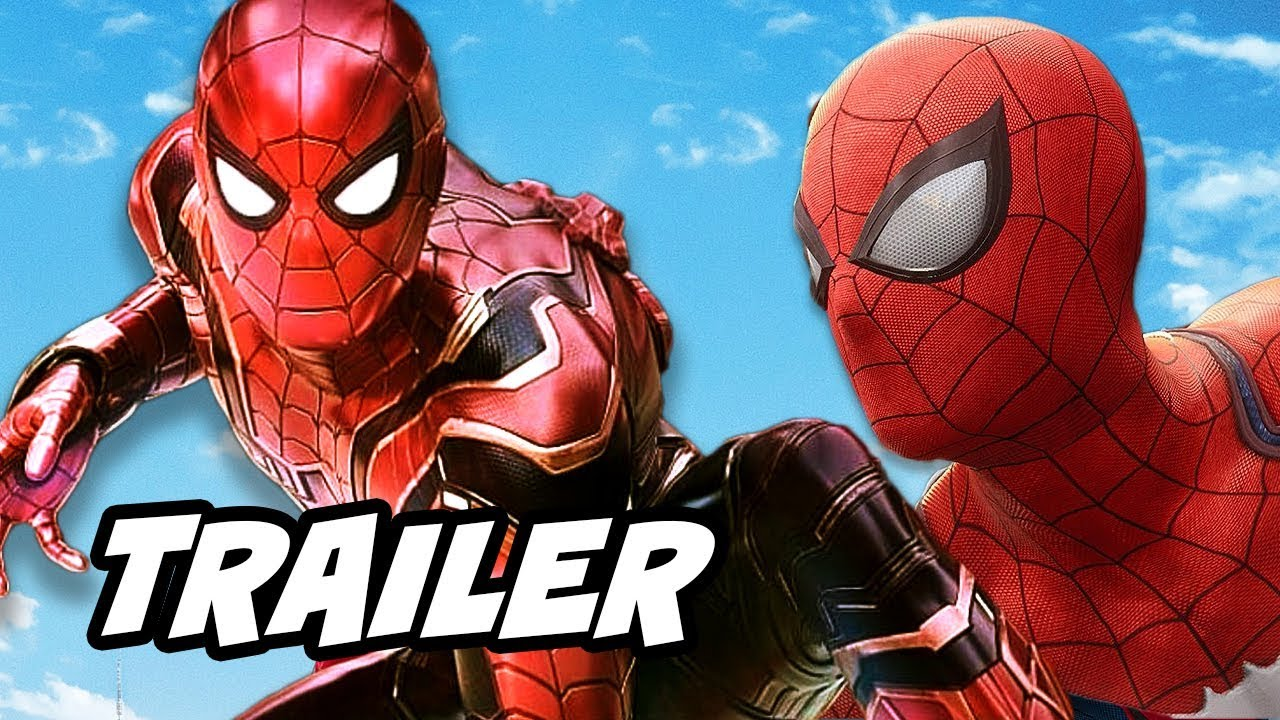 Avengers Infinity War Spider-Man Iron Spider and Spider-Man PS4 Trailer Breakdown