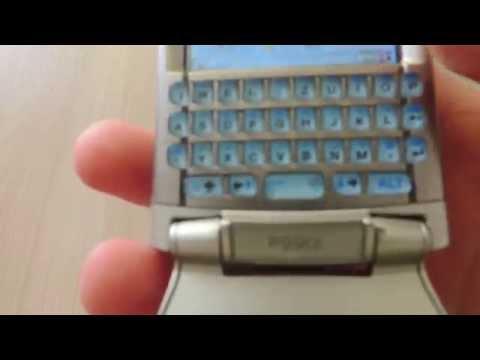 Обзор старого смартфона Sony Ericsson P990i