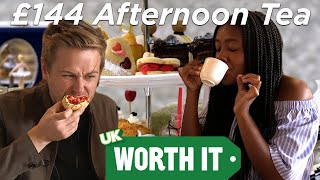 £21.50 Vs. £144 Afternoon Tea