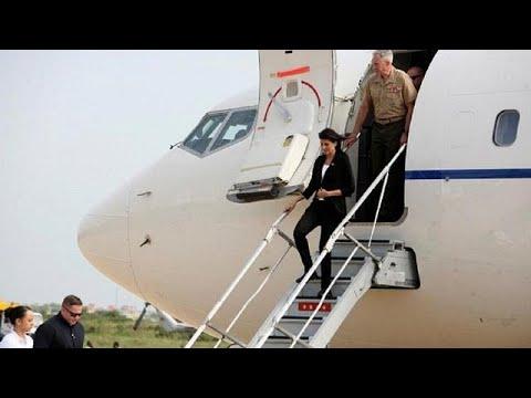 US ambassador Haley arrives in DR Congo [no comment]