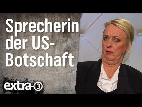 Kate Bradley - Sprecherin des US-Botschafters in Deutschland | extra 3 | NDR