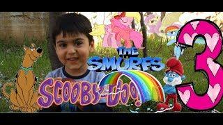 Elma Yanak Mert - Şirin Baba Scooby Doo ve Little Pony Oyunu 3