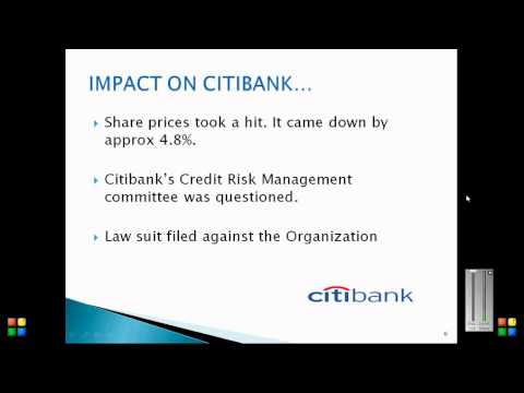 credit risk citibank