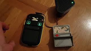 Fireman Sam alarm box and Korg Kaossilator 2 jam