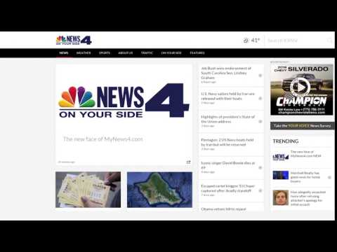 KRNV New Website Live tv10