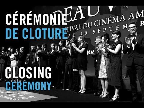 Cérémonie de Cloture du 43e Festival du Cinéma Américain de Deauville