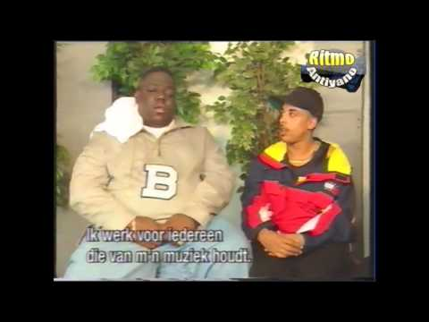 RARE Interview Notorious B.I.G in the Netherlands 1996 ( dutch title )