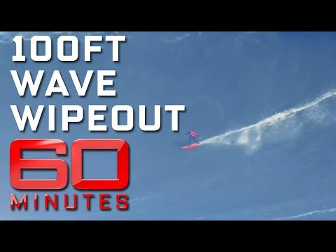 Surfing the 100ft swell at Nazare | 60 Minutes Australia