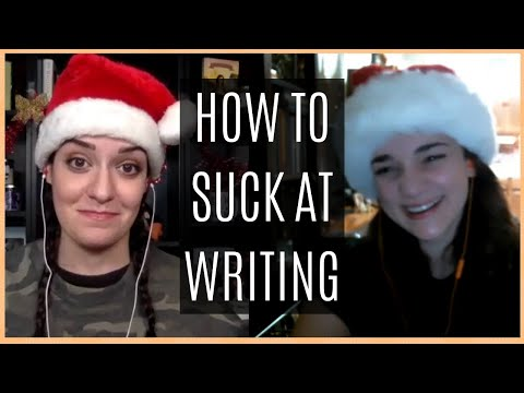 10 Worst Practices For Newbie Writers | Feat JENNA MORECI