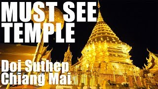 AMAZING GOLD TEMPLE - DOI SUTHEP TEMPLE