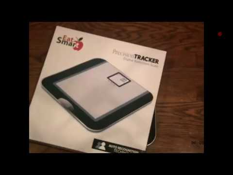 EatSmart Precision Tracker Scale Review:: EatSmart Precision Tracker Digital Bathroom Scale!+