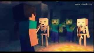 Minecraft   мультик   клип