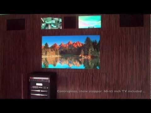 SmartWall - The Ultimate Home Cinema Media Wall