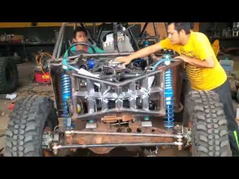 Final Test Run Engine Toyota 1UZ-FE V8 4000cc (Dunan Custom)
