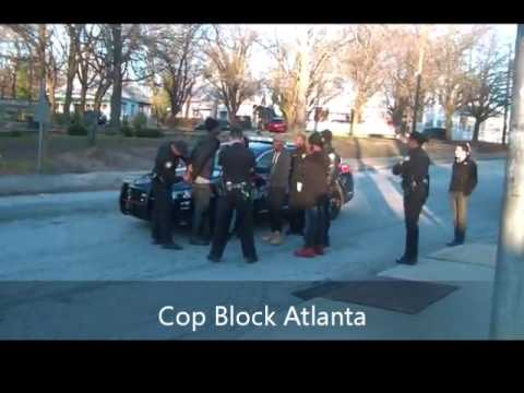 Atlanta Police Shoves Teen Then Release Them Once They Realized They Were Being Filmed