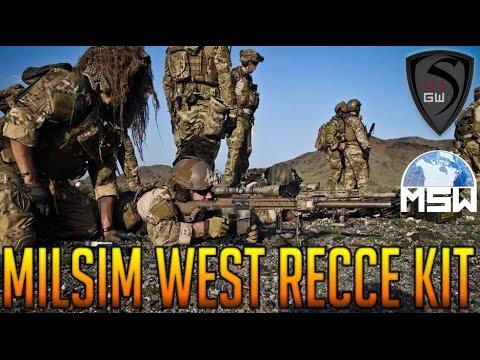 MILSIM WEST RECCE KIT -SPARTAN117GW