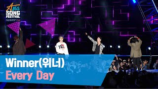 Winner(위너) 방송CAM - 'EveryDay' Asia Song Festival 2019