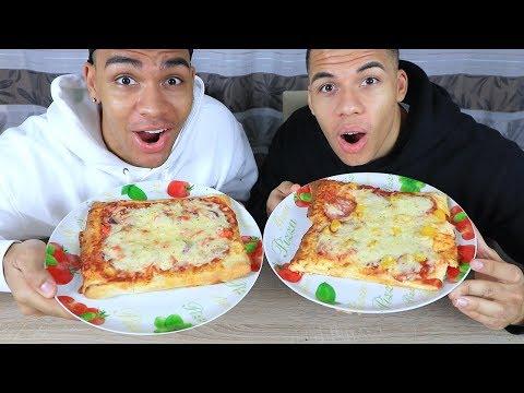 WER KANN BESSER PIZZA BACKEN ?!! | PrankBrosTV