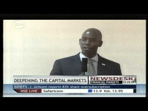 Deepening the capital market in Kenya