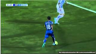 Video Gol Pertandingan Getafe vs Malaga