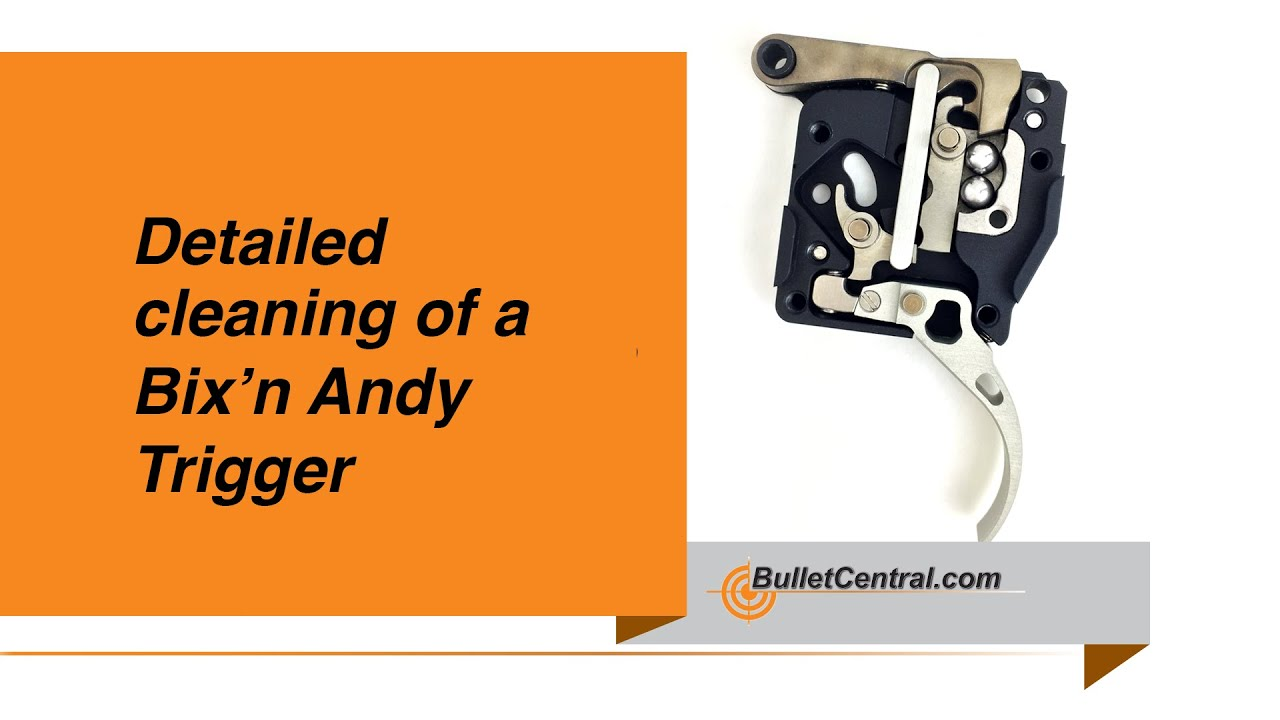 Detailed cleaning of a Bix\'n Andy Trigger - YouTube