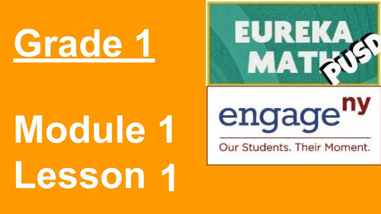 small resolution of Eureka Math Grade 1 Module 1 Lesson 1 - YouTube