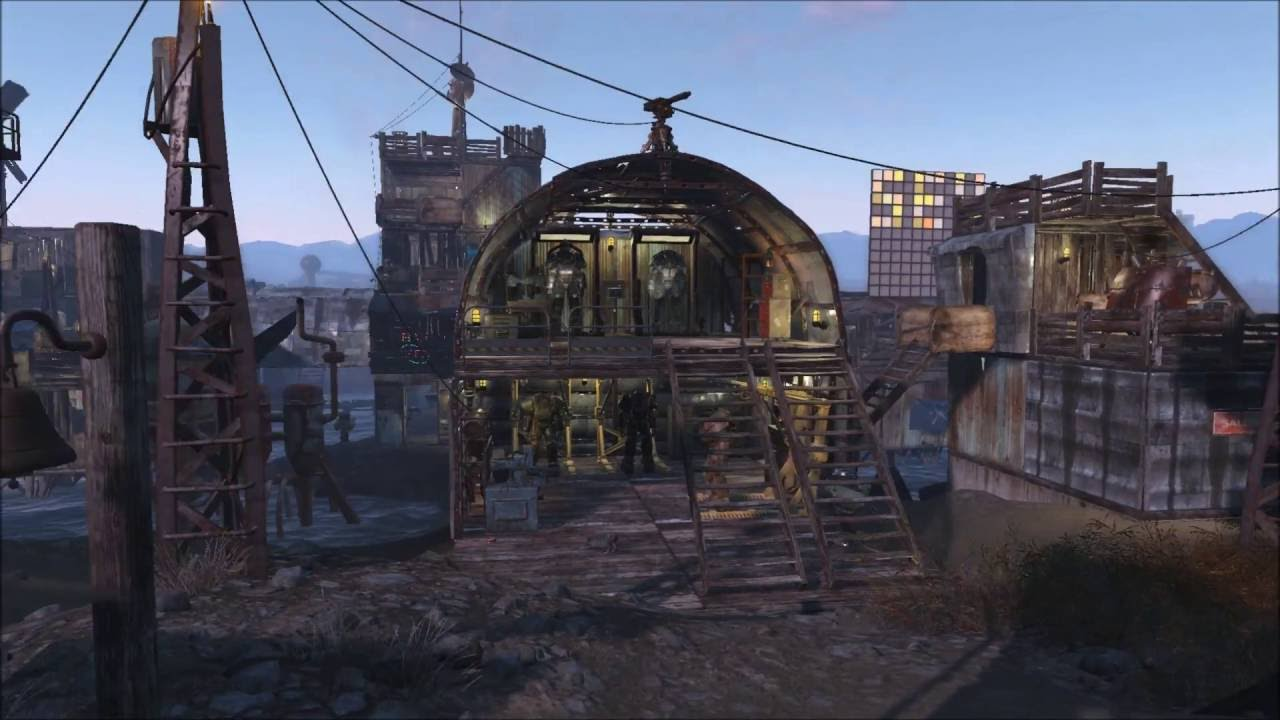 Fallout  Spectacle Island Settlement Build