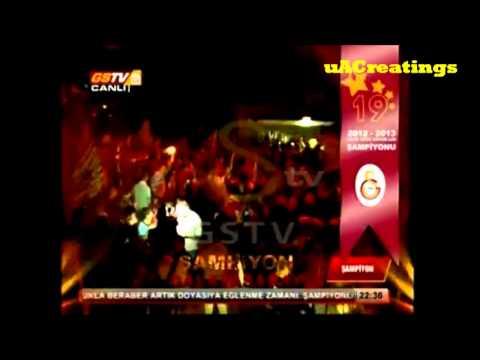 19. Sampiyonluk Kutlamasi | Galatasaray Soyunma Odasi ve Florya Metin Oktay Tesisleri 5 Mayis 2013