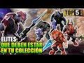 Top 5: Elites que Deben estar en tu colección   Halo Mega Construx