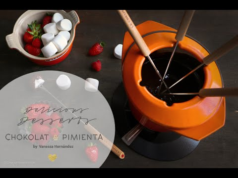 how to make chocolate fondue on stove