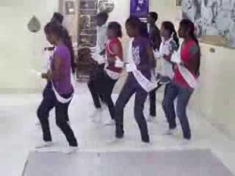 Group dances 14 1 2014  We are a chosen generation God Ministries Sunday School