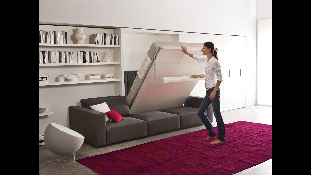 Мебель трансформер smart furniture clei italy - youtube.