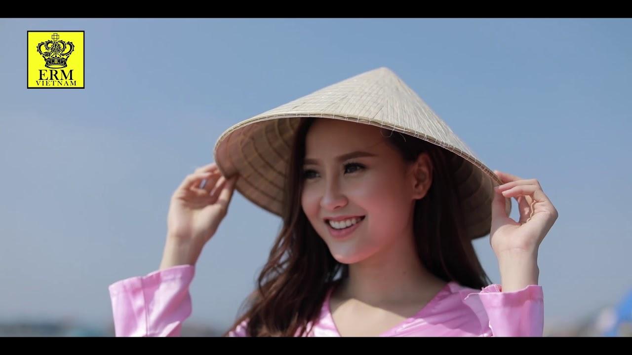 Hoa khôi Khánh Ngân ngọt ngào khám phá vẻ đẹp đất nước l Miss Globe Vietnam 2017